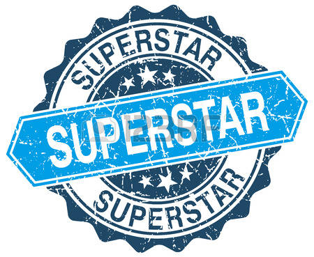 Blue super star clipart graphic library stock 2,654 Superstar Stock Vector Illustration And Royalty Free ... graphic library stock