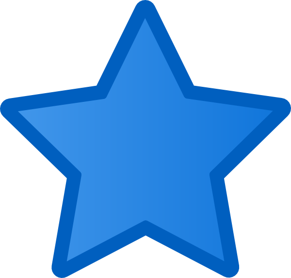 Star clipart blue png royalty free library Blue super star clipart - ClipartFest png royalty free library
