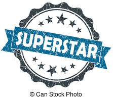 Blue super star clipart. Superstar and stock illustrations