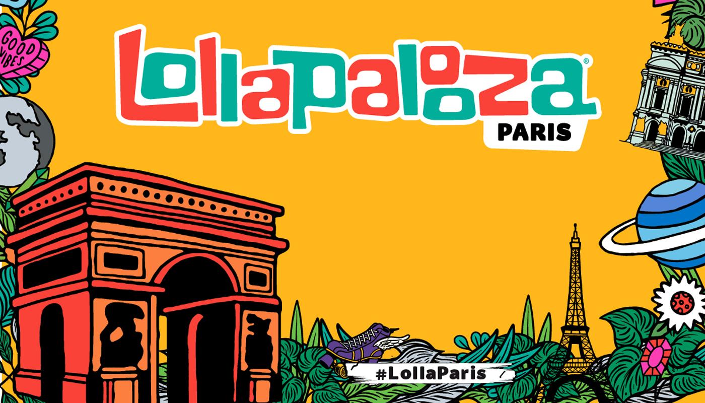 Blue take me to paris clipart font picture stock Lollapalooza Paris 2020 - Festicket picture stock
