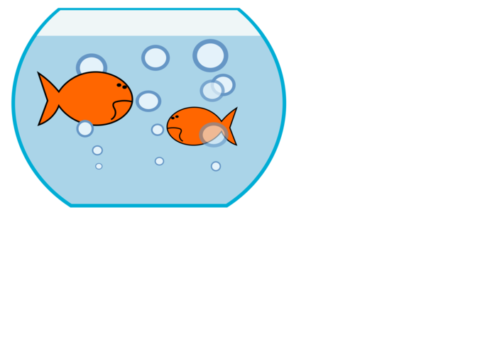 Fish tank decorations clipart banner black and white Fish Tank Clipart at GetDrawings.com | Free for personal use Fish ... banner black and white