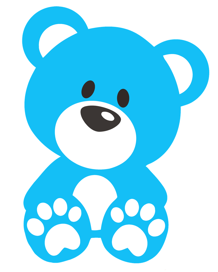 Blue teddy bears clipart vector Pin by Tammy Mellies on Clip Art-BEARS! | Teddy bear drawing, Bear ... vector