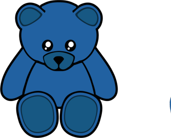 Blue teddy bears clipart clipart transparent library Blue Teddy Bear Clipart | Free download best Blue Teddy Bear Clipart ... clipart transparent library