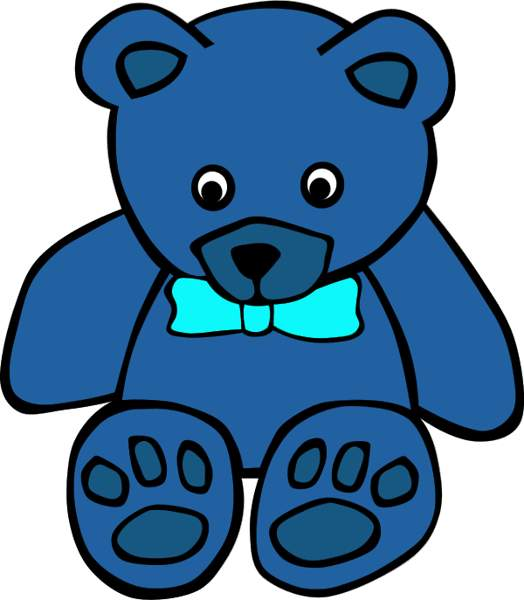 Blue teddy bears clipart png free library Pictures Teddy Bears Clipart | Free download best Pictures Teddy ... png free library