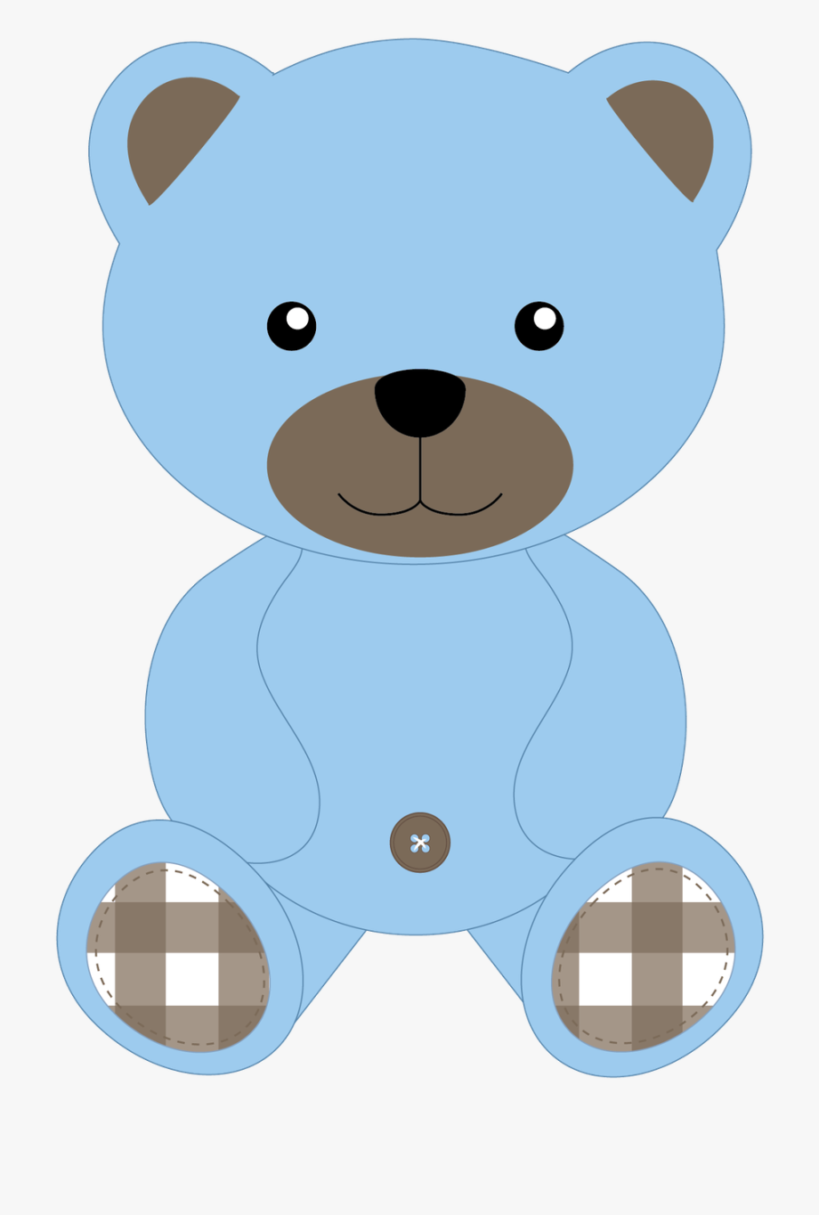Blue teddy bears clipart graphic royalty free download Ear Clipart Teddy Bear - Teddy Bears Cartoon Png #131043 - Free ... graphic royalty free download