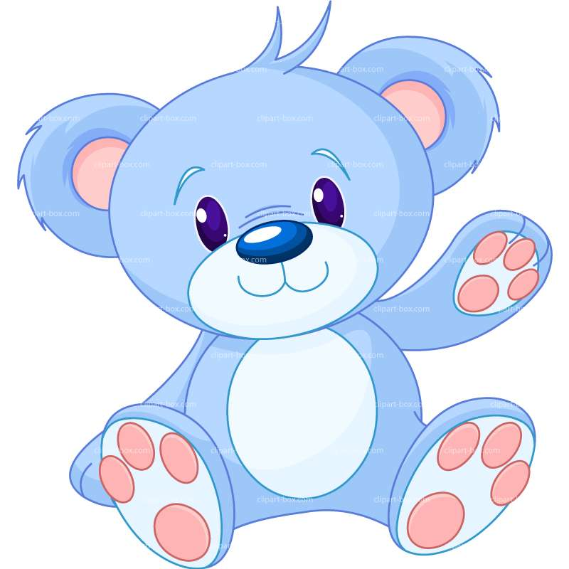 Blue teddy bears clipart clip black and white stock Teddy Bears Art | Free download best Teddy Bears Art on ClipArtMag.com clip black and white stock