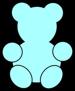 Blue teddy bears clipart jpg stock Clip art outline teddy bears - Google Search | Baby Shower Ideas ... jpg stock
