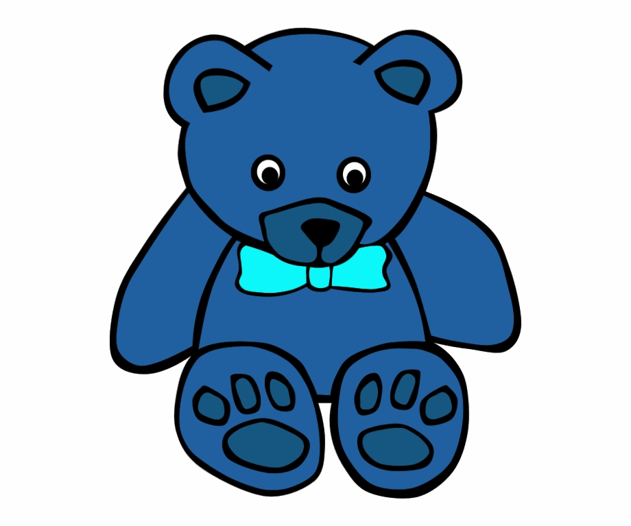 Blue teddy bears clipart image library library Teddy Bear Clip Art On Teddy Bears And Clipartwiz 7 - Blue Teddy ... image library library