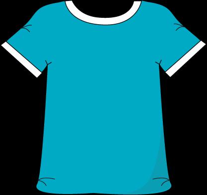 t-shirt-clip-art-blue-tshirt-white-collar | Pasco Middle School png download