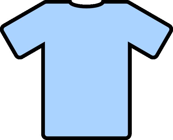 Blue tee shirt clipart banner freeuse library Light Blue T Shirt Clip Art at Clker.com - vector clip art online ... banner freeuse library
