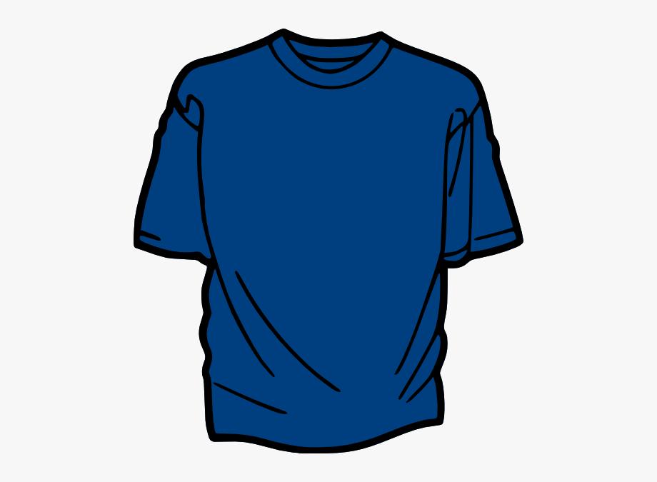 Blue tee shirt clipart clip library T Shirt Template Blue Clip Art - Tshirt Clipart #115483 - Free ... clip library