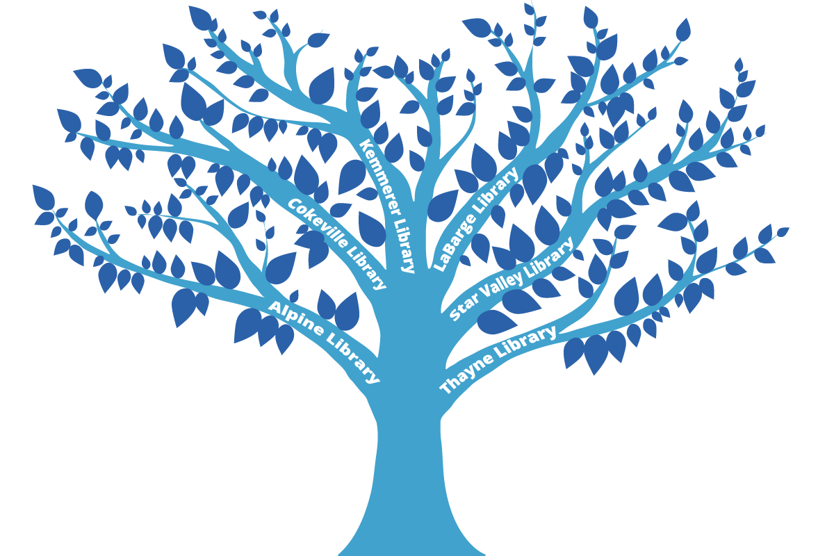 Blue tree clipart picture library Lincoln County Library System | Youth picture library