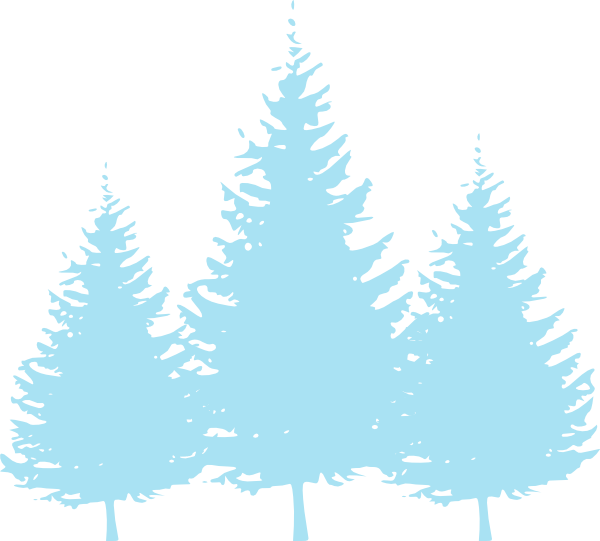Blue tree clipart picture freeuse stock Baby Blue Trees Clip Art at Clker.com - vector clip art online ... picture freeuse stock