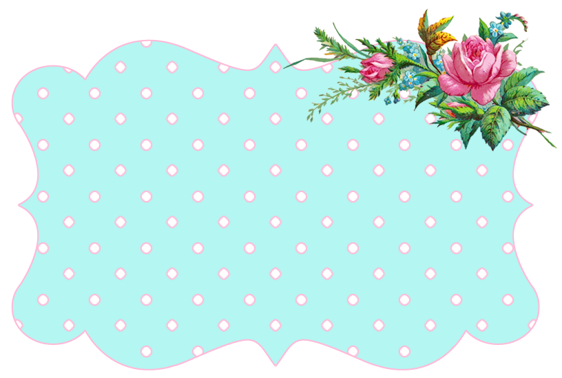 Blue vintage flower clipart picture royalty free stock ♥Freebie Image: Vintage Flower Frames + a Winner! ♥ - Free Pretty ... picture royalty free stock