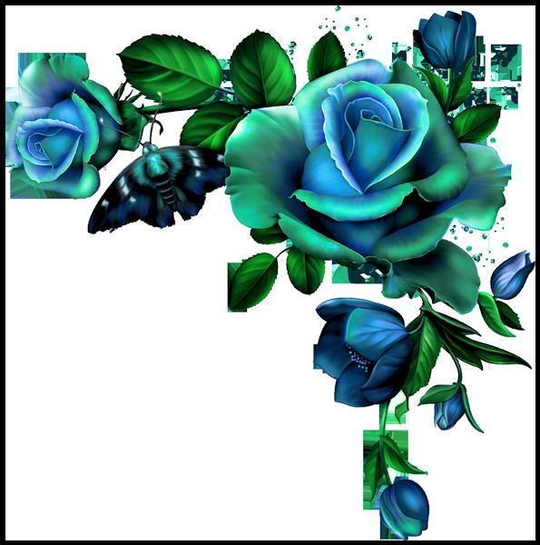 Blue vintage flower clipart transparent download 0_d5aec_b96f6af3_orig.png | Pinterest | Rose, Decoupage and Flowers transparent download