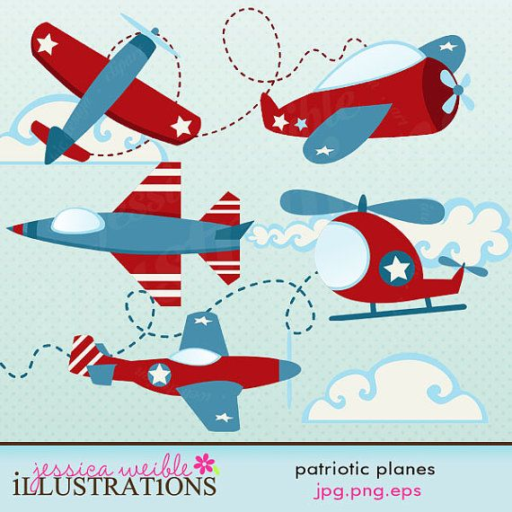 Blue vintage plane clipart png freeuse library 17 Best images about Ideas: Up, Up & Away Theme on Pinterest ... png freeuse library