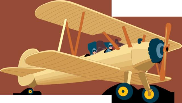 Blue vintage plane clipart png free Vintage Airplane Clipart & Vintage Airplane Clip Art Images ... png free