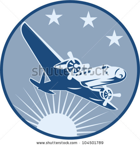 Blue vintage plane clipart jpg free library Vintage Airplane Stock Images, Royalty-Free Images & Vectors ... jpg free library