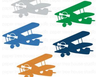 Blue vintage plane clipart. Navy clipartfest clip art