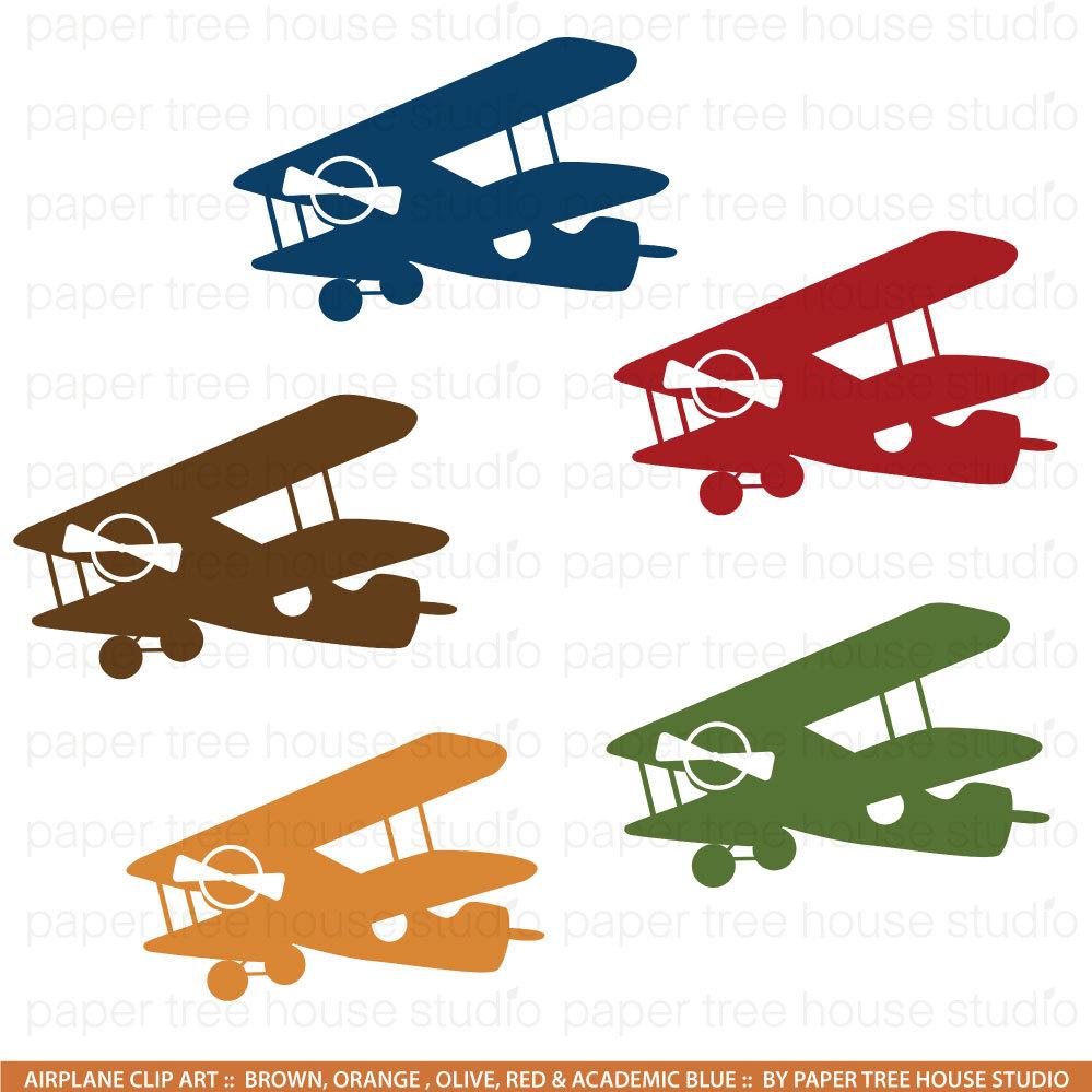 Blue vintage plane clipart. Clipartfox