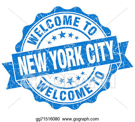 Blue welcome clipart