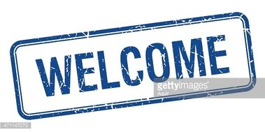Blue welcome clipart picture royalty free download Welcome Blue Square Grungy Vintage Isolated Stamp stock vectors ... picture royalty free download