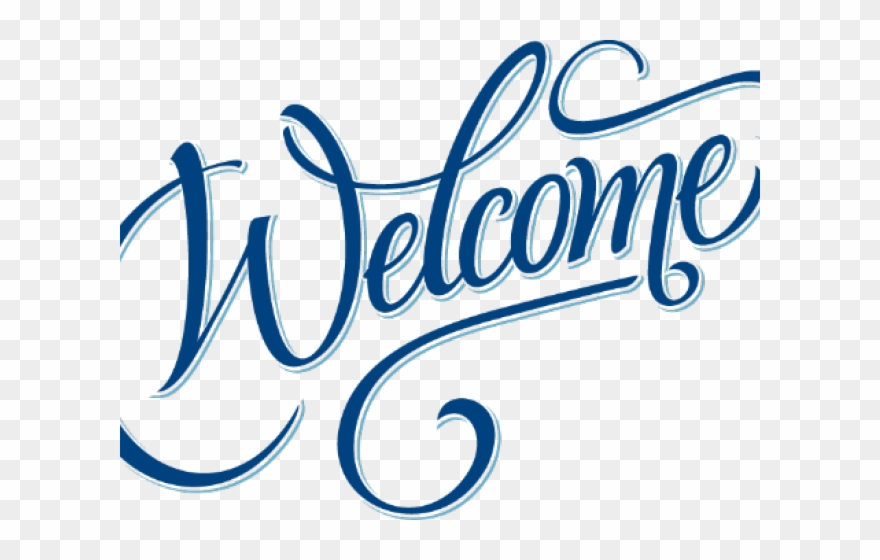 Blue welcome clipart clipart transparent stock Welcome Clipart Transparent Background - All India Station Masters ... clipart transparent stock