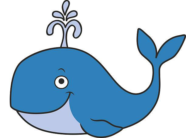 Blue whale clipart picture library download Blue Whale Clipart At Getdrawings Free For Excellent Pleasant 9 ... picture library download