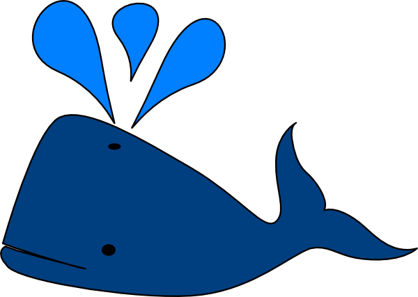 W whale clipart vector black and white download Free Blue Whale Clipart, Download Free Clip Art, Free Clip Art on ... vector black and white download