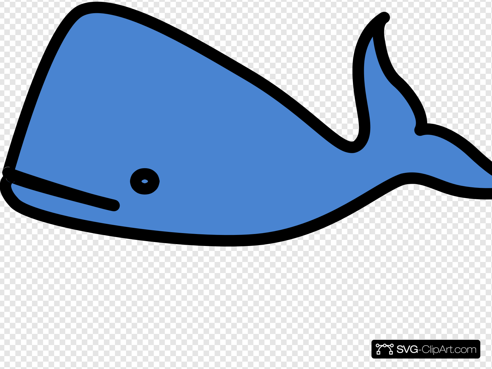 Blue whale clipart clip art free library Light Blue Whale Clip art, Icon and SVG - SVG Clipart clip art free library
