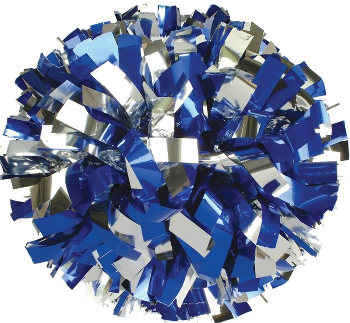 Blue & white pom poms on stick png clipart graphic black and white library POM EXPRESS METALLIC POMS FOR CHEER, DANCE AND DRILL TEAMS graphic black and white library