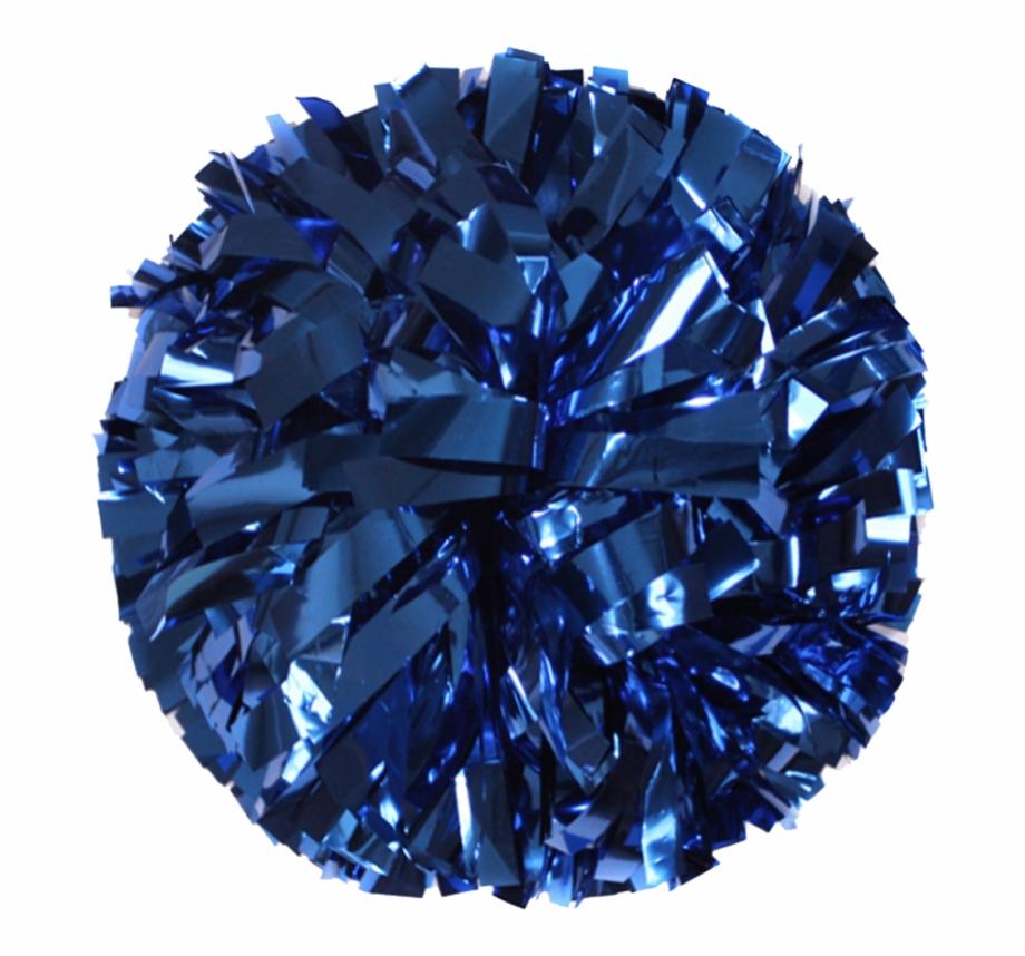 Blue & white pom poms png clipart jpg download Metallic Royal Blue Pom - Cheer Dance Pom Poms Free PNG Images ... jpg download