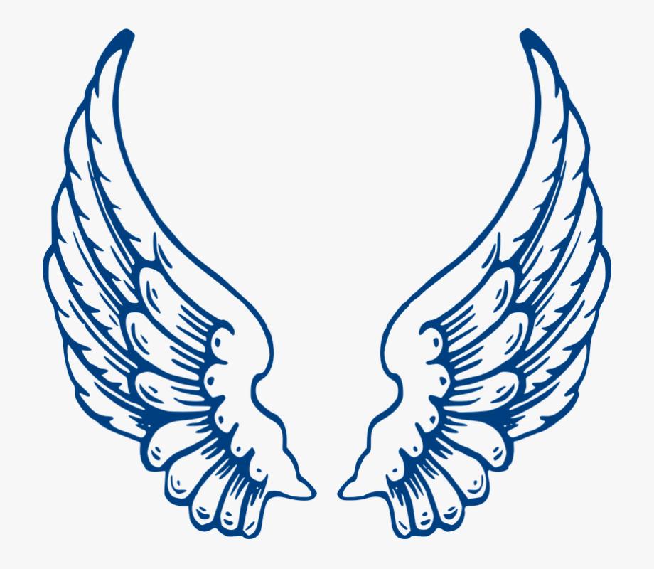 Spread clipart jpg transparent Angel, Wings, Blue, Feathers, Spread - Angel Wings #529246 - Free ... jpg transparent