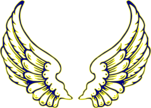 Blue wings images clipart clipart royalty free Blue And Yellow Wings Clip Art at Clker.com - vector clip art online ... clipart royalty free