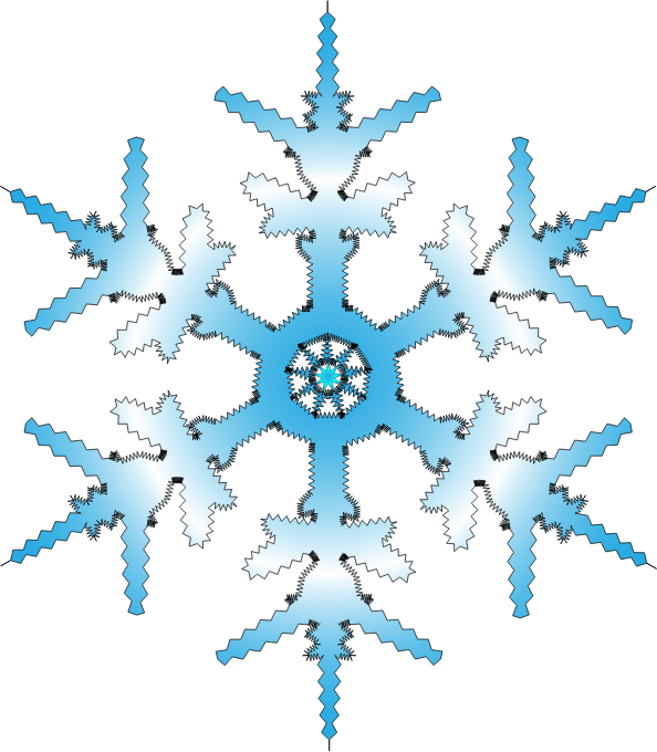 Fancy snowflake free clipart image transparent download 28+ Collection of Winter Snowflakes Clipart | High quality, free ... image transparent download