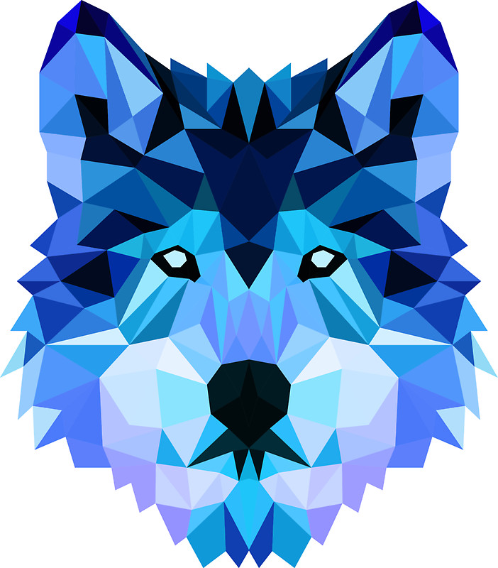 Blue wolf clipart clip art black and white download Blue Wolf Clipart clip art black and white download