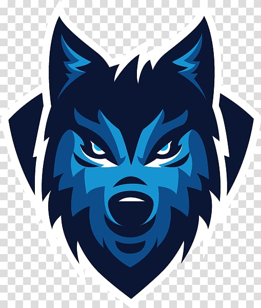 Blue wolf clipart image Blue wolf logo illustration, Gray wolf Sports team Logo, others ... image