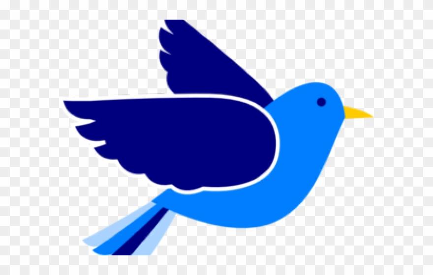 Clipart blue bird picture transparent stock Bluebird Clipart Birdss - Blue Bird Flying Clipart - Png Download ... picture transparent stock