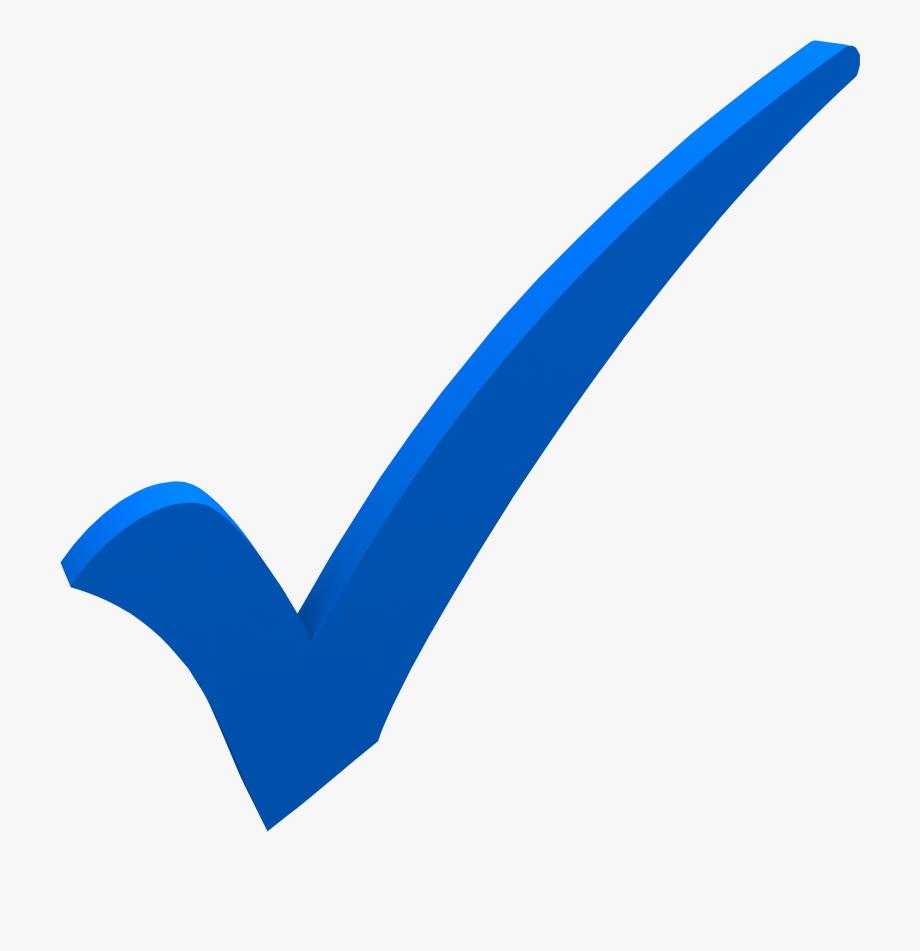 Bluecheckmrk clipart vector freeuse stock Tao De Libertad Tick - Check Mark Transparent Blue Checkmark #279602 ... vector freeuse stock