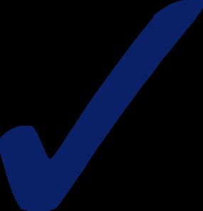 Bluecheckmrk clipart svg free stock Blue Check Mark - Png Clip Art at Clker.com - vector clip art online ... svg free stock