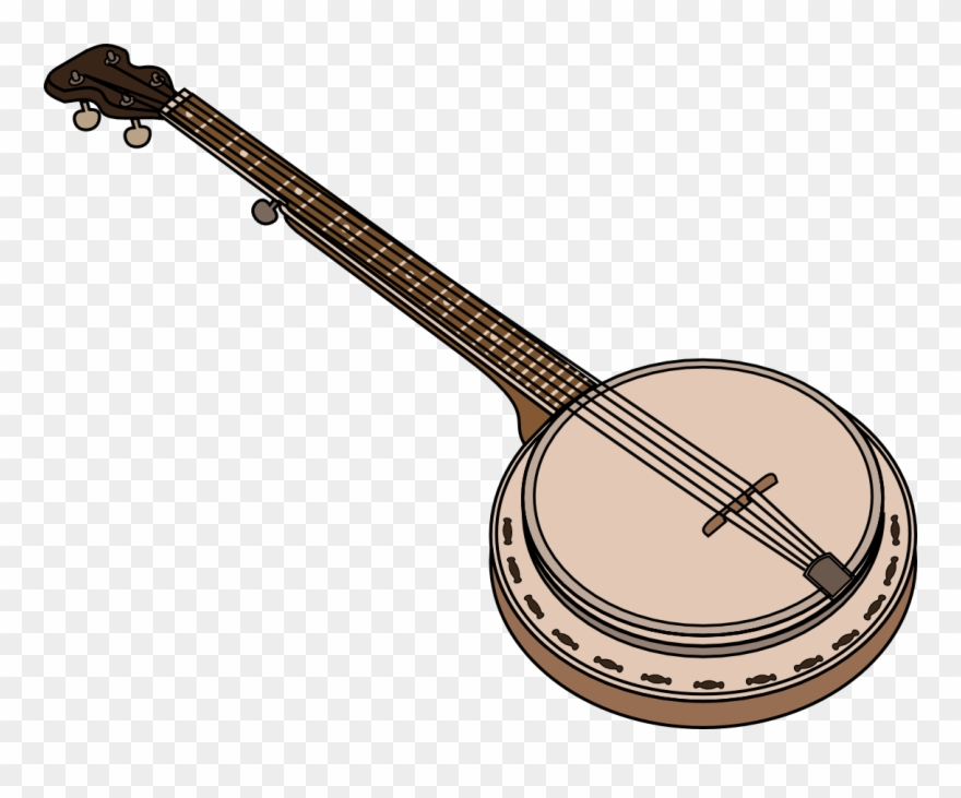 Bluegrass clipart free image freeuse library Banjo String Instruments Musical Instruments Bluegrass - Banjo ... image freeuse library