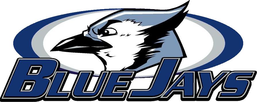 Jefferson - Team Home Jefferson Blue Jays Sports jpg black and white stock