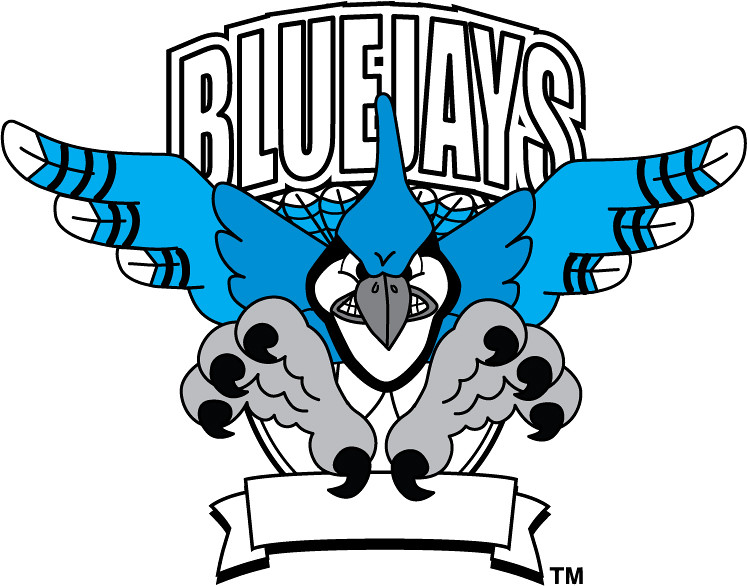 Bluejay mascot clipart banner library library Clip Art Illustration of a Bluejay Mascot | Clip art illustr… | Flickr banner library library