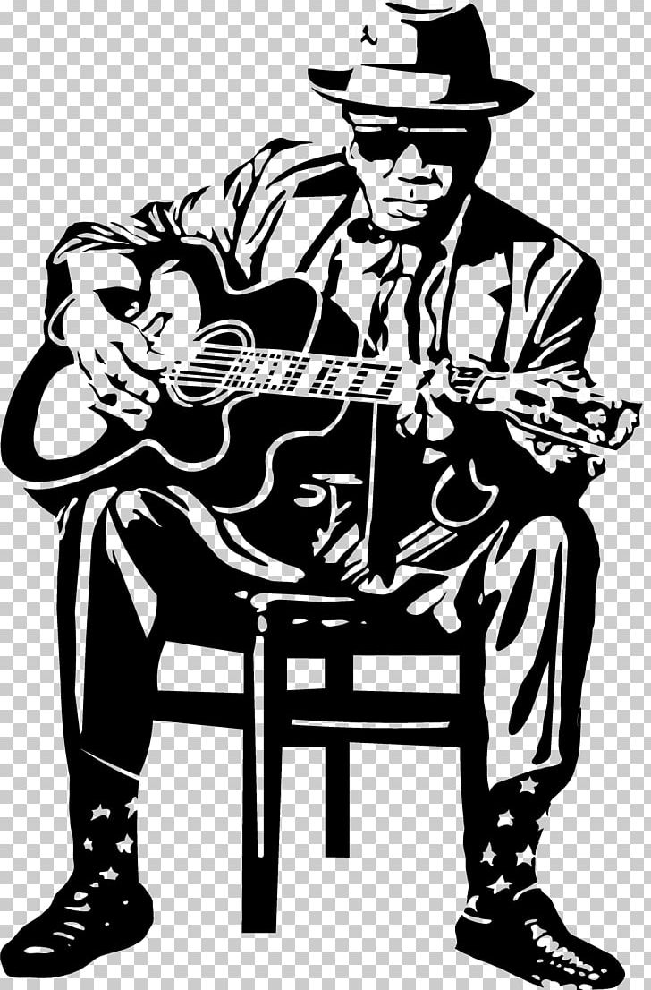 Blues guitar clipart