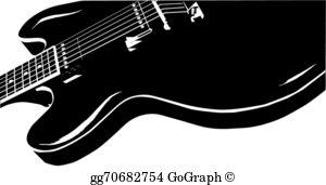 Blues guitar clipart clip art free stock Blues Guitar Clip Art - Royalty Free - GoGraph clip art free stock