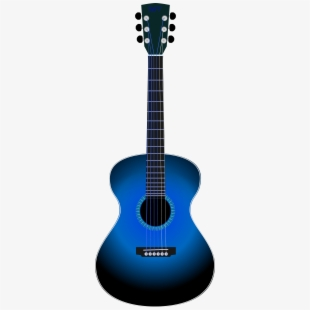 Blues guitar clipart image free Acoustic Guitar Clip Art Many Interesting Cliparts - Silhouette ... image free