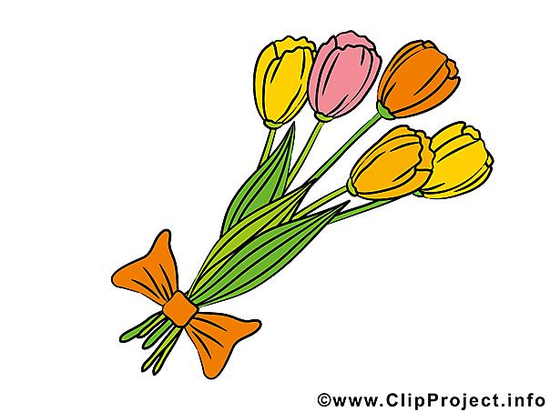 Blumenstrau clipart geburtstag banner freeuse library Blumenstrauss mit Tulpen Bild - Clipart banner freeuse library