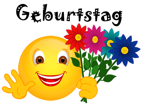 Blumenstrau clipart geburtstag png royalty free library Smiley – Blumen-Geburtstag « Cliparts png royalty free library