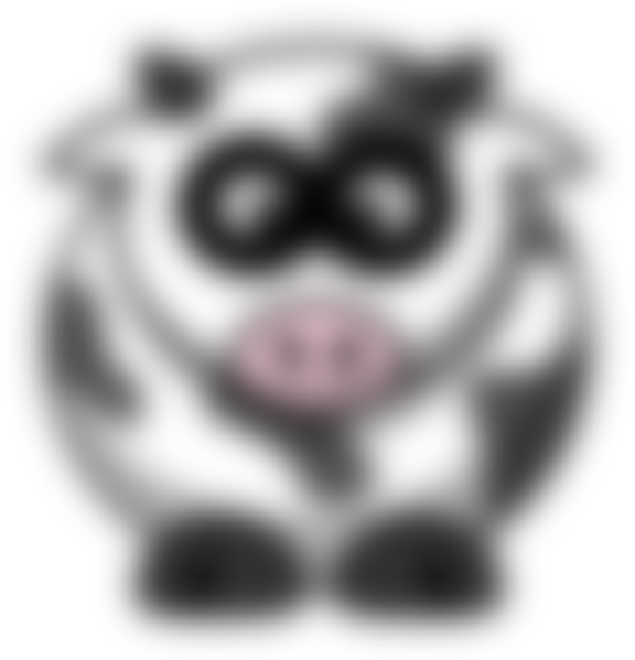Blurred clipart picture library Blurry Cow Clip Art at Clker.com - vector clip art online, royalty ... picture library