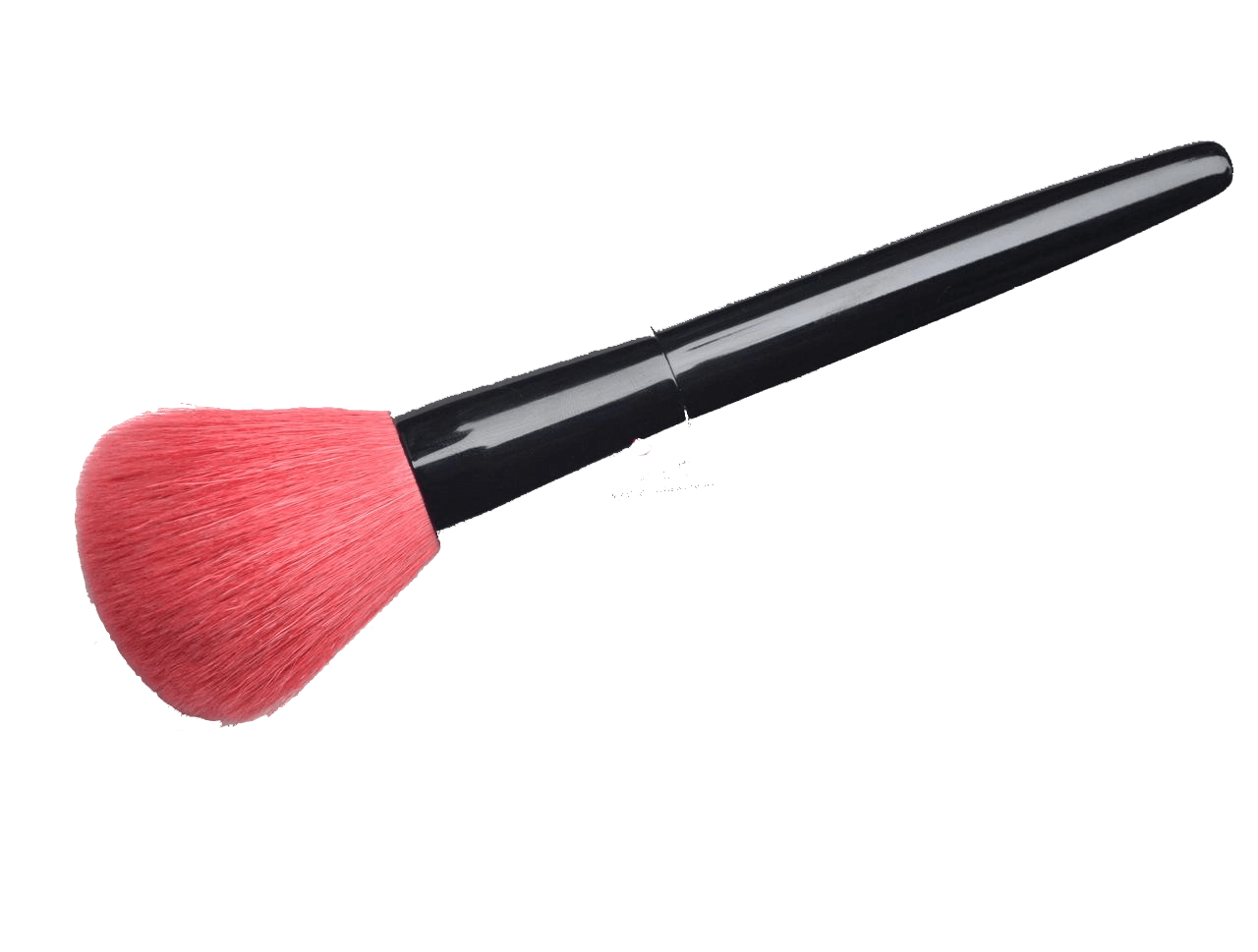 Blush brush clipart library Pink Makeup Brush transparent PNG - StickPNG library